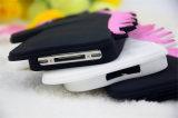 Caja del teléfono móvil del silicón del unicornio del caballo de la historieta para la aguja del LG G4 (XSD-013)