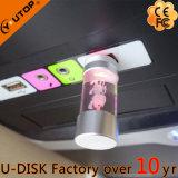 걸출한 수정같은 승진 선물 둥근 병 빛난 USB (YT-3270-08L)