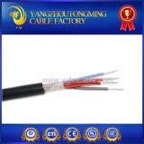 Cable eléctrico del instrumento de alta temperatura del caucho 2.5mm2