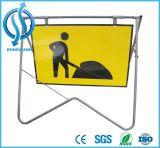 Подгонянный напольный предупредительный знак металла с гнуть нержавеющей стали