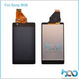 Индикация LCD сенсорного экрана мобильного телефона для цифрователя Сони Xperia M36h
