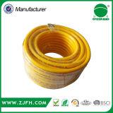 Tuyau à haute pression de l'eau de pulvérisation de PVC de connecteur en laiton fort superbe