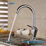 Migliore rubinetto doppio d'ottone di vendita del dispersore di cucina della maniglia