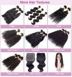 100% Luxus Remy Menschenhaar-Jungfrau-malaysisches lockiges Haar