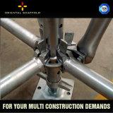 Colar baixo dos componentes do andaime de Ringlock para a construção