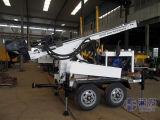 Hf150tのトレーラーによって取付けられる井戸の掘削装置、空気DTH掘削装置