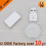 Carte mémoire Memory Stick en cristal de l'octogone fait sur commande USB de logo (YT-3270-11L)