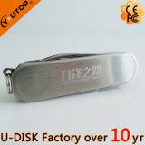 USB su ordinazione Pendrive (YT-1218) della lama di esercito del regalo di promozione di marchio