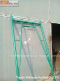 Breuk op Gang door de Steiger van het Frame met de Ladder van het Staal