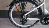 隠されたリチウム電池のE自転車が付いている電気バイクを折る26インチ