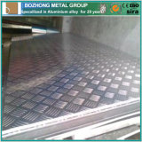 Placa Checkered de aluminio de la venta 6060 calientes