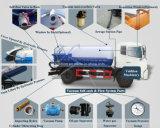 [6إكس4] [لهد/رهد] [15000ليتر/15كبم/15م3/15000ل] فراغ ماء صرف مصّ شاحنة