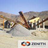 Zerquetschung des Stein-100tph/Zerkleinerungsmaschine-Pflanze für Verkauf