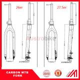 parte dianteira da bicicleta de montanha do carbono das forquilhas do carbono da bicicleta MTB do freio de Dics das forquilhas do carbono 26er/27.5er/29er