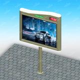 Stahlkonstruktion, die Mini-LED Anschlagtafel der Zeichen-Solar Energy im Freien Stadt-Anschlagtafel-4X3 bekanntmacht