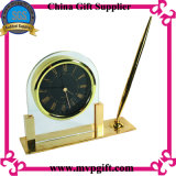 고품질 나무로 되는 석영 테이블 시계