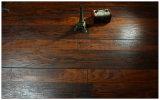 Geriebener Kirschc$v-grooved lamellenförmig angeordneter Fußboden der Werbungs-12.3mm Hand