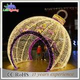 휴일 가벼운 LED 크리스마스 공 빛 큰 옥외 크리스마스 훈장 빛