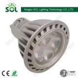 Todos Alumínio Habitação GU10 3W Refletor LED com CE RoHS