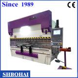 Hydraulische Stahlplatten-verbiegende Maschine CNC-Wc67k-100t/4000 mit SGS-Bescheinigung
