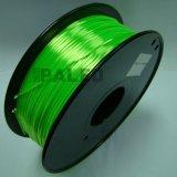 Zijde zoals de Gloeidraad van het Polymeer voor 3D Druk ABS/PLA van de Printer