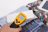 - 50 a +380c Imediato-Leram injetor infravermelho Non-Contact Handheld da temperatura do termômetro de Digitas LCD IR com laser