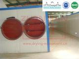 Secador eficiente elevado do ar quente para a fatia da fruta