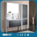 Mobilia calda della stanza da bagno della melammina di vendita con il dispersore