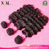 Queenlike schwarze Frauen Choosed beste Qualitätsnatürliches peruanisches menschliches Jungfrau-Haar 3 Bündel tiefe Wellen-