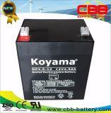 12V 4.5ah AGM-Leitungskabel saure UPS-Batterie