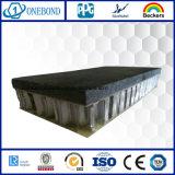 Matériau de construction dans le panneau de nid d'abeilles de pierre de fibre de verre pour le revêtement