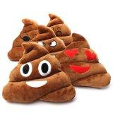 6inch het grappige Stuk speelgoed van de Pluche van het Hoofdkussen van Emoji van het Achterschip