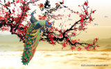 Мальчик и скотины чабана гуляя вниз рекой с corrugated красивейшей яблони водоустойчивое - доска для живущий No модели украшения комнаты: Wl-012