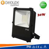 セリウム(FL105-30W)が付いている公園のための品質30W SMD屋外LEDのフラッドライト
