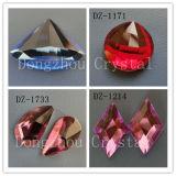 Diamantes 2016 novos das pedras dos grânulos de vidro de parte traseira lisa de China Strass