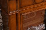 現代簡単な木製の暖房の電気暖炉のホテルの家具(323)