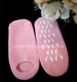 O cuidado de pé utiliza ferramentas peúgas hidratando do gel do Moisturizer da pele do tratamento da pele, peúgas antiderrapantes do pé do gel dos TERMAS