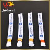 Изготовленный на заказ оптовая продажа один Wristband пользы времени сплетенный тканью