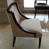 Kundenspezifischer hölzerner schwarzer Rahmen-Gaststätte-Stuhl/Esszimmer-Möbel