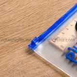 Sac personnalisé de crayon lecteur de PVC de modèle, sac de papeterie de PVC, sac de crayon de PVC pour les cadeaux promotionnels