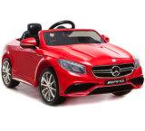 Kind-MERCEDES-BENZ genehmigte Fahrt auf Auto-Spielzeug