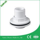 Сделано в штуцере трубы PVC резьбы Китая пластичном