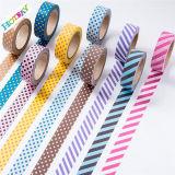 Hoja de cinta de papel de Washi del diseño de aduanas