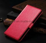 Caja de cuero del teléfono móvil para Sony, tipo del iPhone