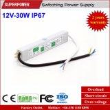 一定した電圧12V 30W LED防水切換えの電源IP67