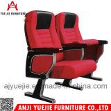 Cadeira específica Yj1212 do auditório do braço do metal do uso da cadeira da conferência