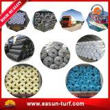 2017 alfombras plásticas de la hierba de los productos que tienden para el jardín