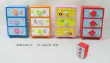 Carb MDF caixa de lápis de madeira com design de insetos para crianças