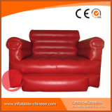 3 في 1 قابل للنفخ يعيش غرفة أريكة أحمر [ب1-003]