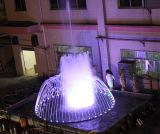 Fuente al aire libre musical decorativa del jardín del agua con la luz del LED